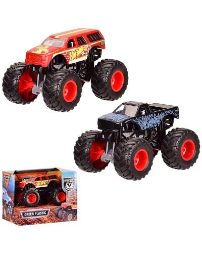 Машина H3013A-1/2 2 вида, 1:64, в кор. 12.5*8.5*10 см, р-р игрушки – 9.5*6*6 см