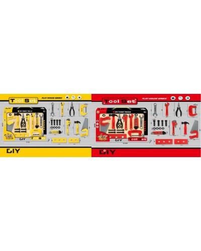 Набор инструментов 3688-H05/3699-H05 2цвета, в наборе: плоскогубцы, пила, гайки, гаячный ключ