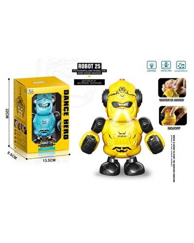 Робот 2629-T23A 2 цвета, в кор.– 13.5*9.5*22 см, р-р игрушки – 13*9*21 см