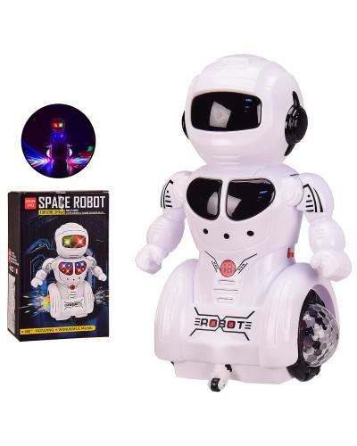 Робот батар. 5922B свет, звук, танцует, в кор. 14*10.5*23 см, р-р игрушки – 14*10*22 см