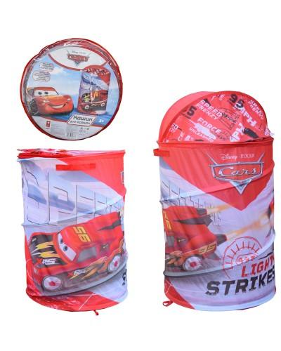 Корзина для игрушек D-3508 Cars, в сумке – 49*49*3 см, р-р игрушки – 43*43*60 см