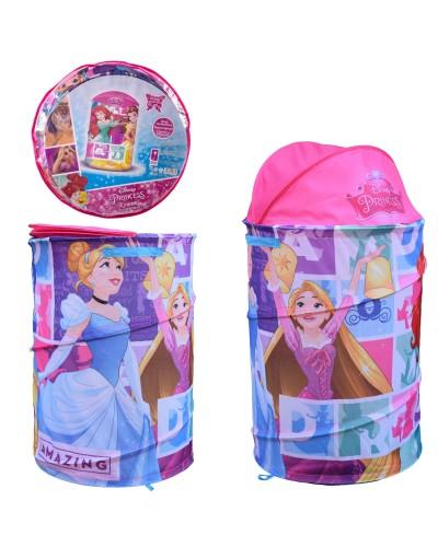 Корзина для игрушек D-3518 Princess в сумке – 49*49*3 см, р-р игрушки – 43*43*60 см