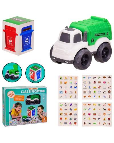 """Игра """"Охрана окружающей среды"""" 7077-92 раздельный сбор мусора, в кор. 27.5*7*23.5 см"""