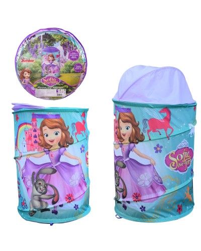 Корзина для игрушек D-3509 Sofia в сумке – 49*49*3 см, р-р игрушки – 43*43*60 см
