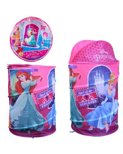 Корзина для игрушек D-3512 Princess в сумке – 49*49*3 см, р-р игрушки – 43*43*60 см