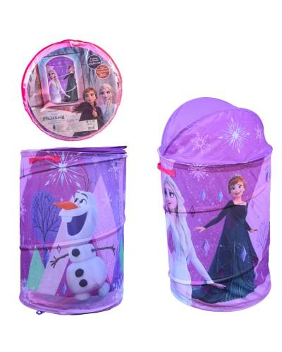Корзина для игрушек D-3513 Frozen  в сумке – 49*49*3 см, р-р игрушки – 43*43*60 см