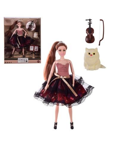 """Кукла """"Emily"""" QJ100 с аксессуарами, в кор. – 28.5*6.5*36 см, р-р игрушки – 29 см"""