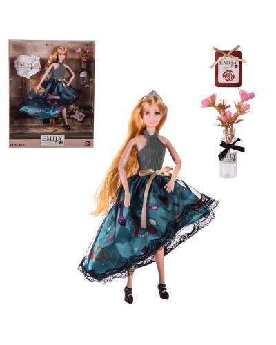 "Кукла ""Emily"" QJ100A с аксессуарами, в кор. – 28.5*6.5*36 см, р-р игрушки – 29 см"