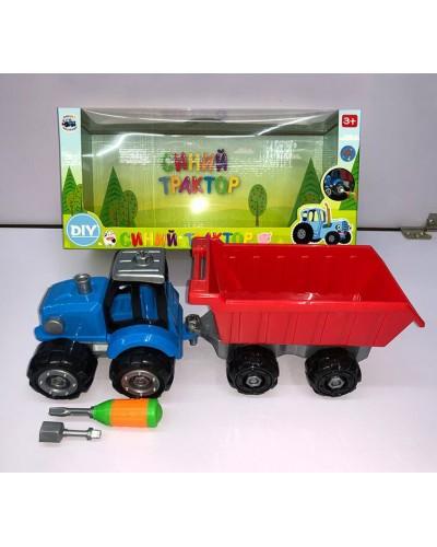Трактор 0488-801BQ отвертка в наборе, в кор. 34,5*12,5*16см