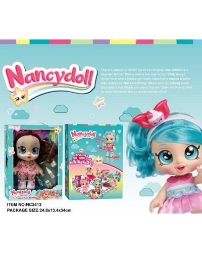 Игровой набор NANCY DOLLS NC2414 кукла Peppa-Mint Kids+пироженки в компл, 28см в кор 24,8*3