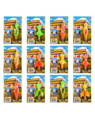 Антистресс AN2013 4 вида микс, на планшетке – 11*2*16.5 см, р-р игрушки – 10 см