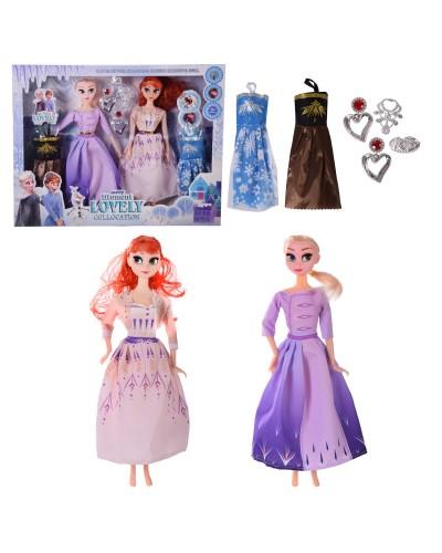 """Кукла """"F"""" RT-38 (2030592)  платья,аксессуары,в кор. – 42*5*32.5 см, р-р игрушки – 29 см"""
