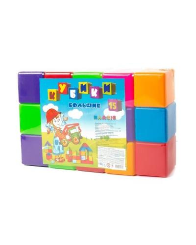 """Набір дитячий """"Кубик 15"""" великий арт022"""