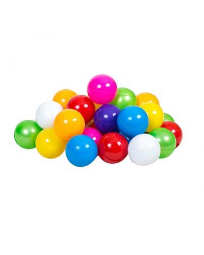 """Набір дитячий """"Кульки"""" арт 0269, диам 9 см, сетка 30 шт"""