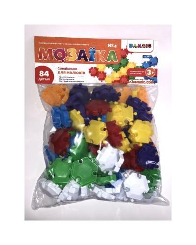 Набір дитячий «Мозаїка різнокольорова №4» артикул 069/4 (84 штук)