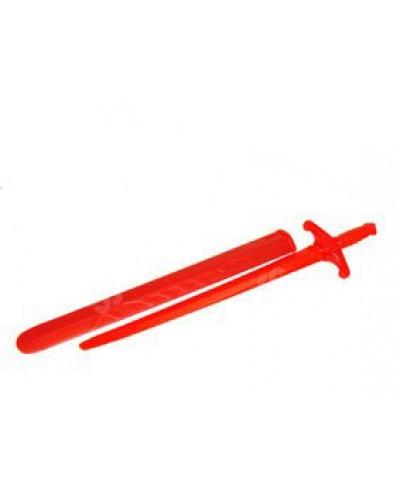 Детский меч (красный)