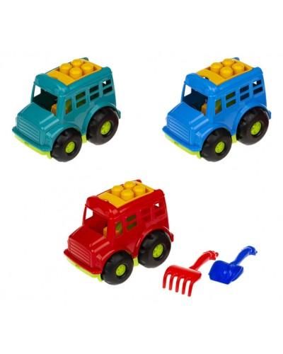 """Автобус """"Бусик"""" №1 (автобус, лоп. и граб. ЛГ3), сетка п/м 84к"""