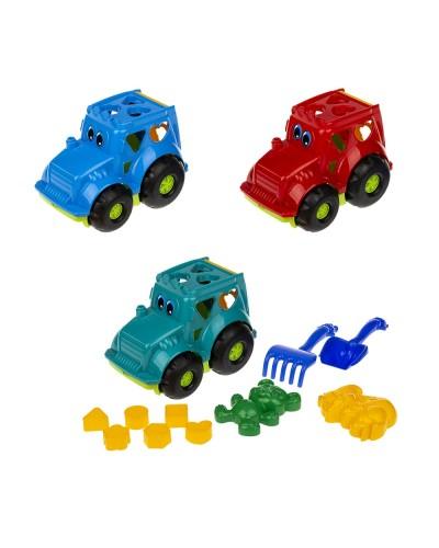 """Сортер-трактор """"Кузнечик"""" №2 (трактор с вкладышами, лоп. и граб. ЛГ4, две пас. П4), сетка п/м 336к"""